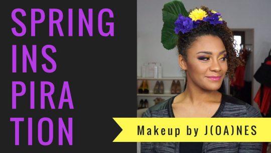 MakeUp Vidéo : Spring Inspiration
